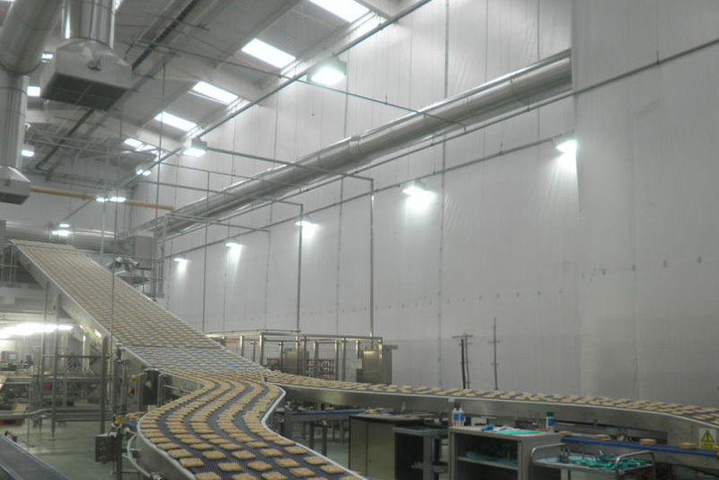 Temporary Factory Partitioning
