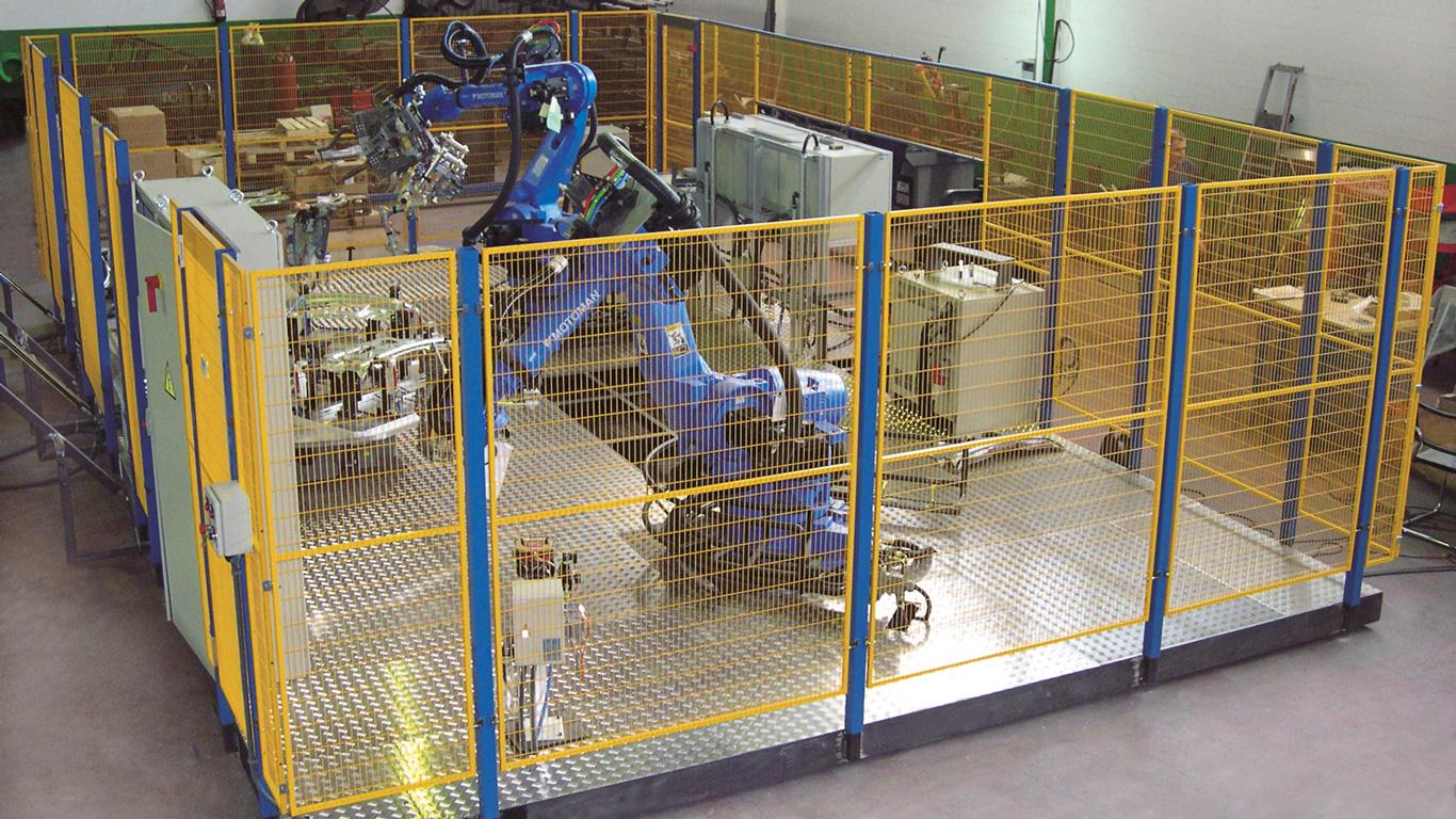 Machine Guarding Machine Amp Robot Guarding For Personnel